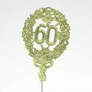 """PAPIER JUBILÄUMSZAHL """"60"""""""
