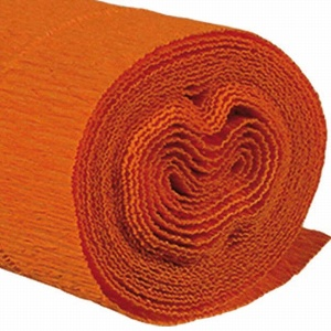 PAPIER KREPP L 250CM ORANGE