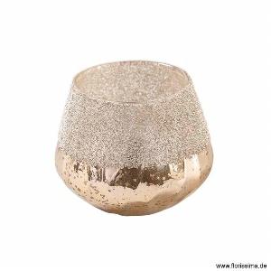 GLAS WINDLICHT BEPERLT 10X9CM