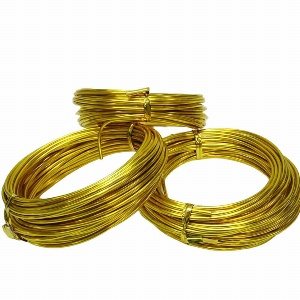 ALUDRAHT 10M B 2MM GOLD