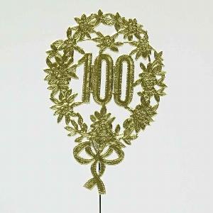 """PAPIER JUBILÄUMSZAHL """"100"""""""