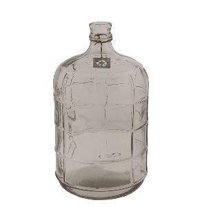 GLAS FLASCHE 11L MIT MUSTER H