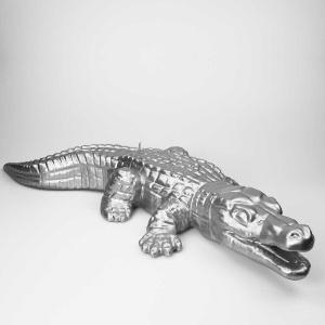 KERZE XXL Krokodil, 730x360mm