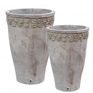 TERRAKOTTA VASE TC232 SET 2