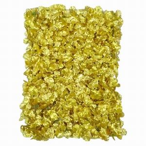 KUNST BLÜTENMATTE 60X40CM GOLD