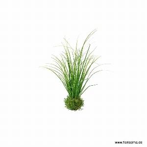 KUNST GRAS BUSCH H 38CM GRÜN