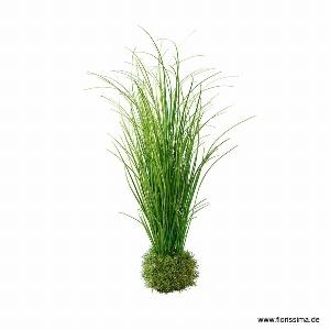 KUNST GRAS BUSCH H 54CM GRÜN