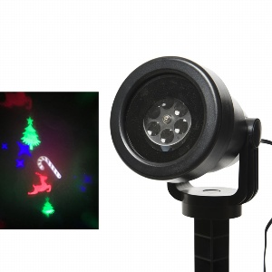 LED X-MAS PROJEKTOR 11X21CM