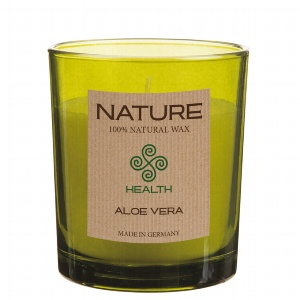 GLAS DUFTKERZE NATURE-HEALTH