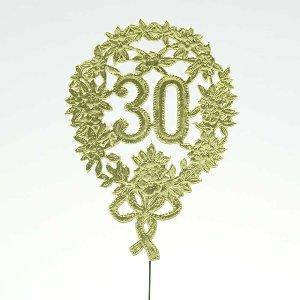 """PAPIER JUBILÄUMSZAHL """"30"""""""
