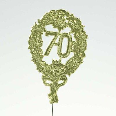 """PAPIER JUBILÄUMSZAHL """"70"""""""