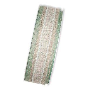 STOFF BAND LEINEN/5607 B 25MM