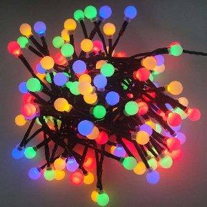 LED LICHTERKETTE KUNSTSTOFF