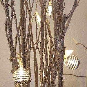 LED LICHTERKETTE GLASKUGEL