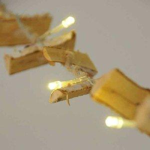 LED LICHTERKETTE 16LED