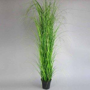 KUNST GRAS IM TOPF