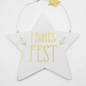 """HOLZ STERN """"FROHES FEST""""Z.H."""