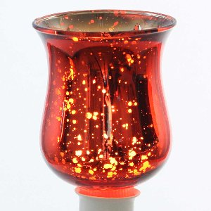 GLAS PARTYLICHT L 8X5,5CM