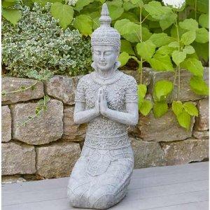 POLY-ZEMENT BUDDHA KNIEND