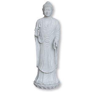 POLY-ZEMENT BUDDHA FIGUR